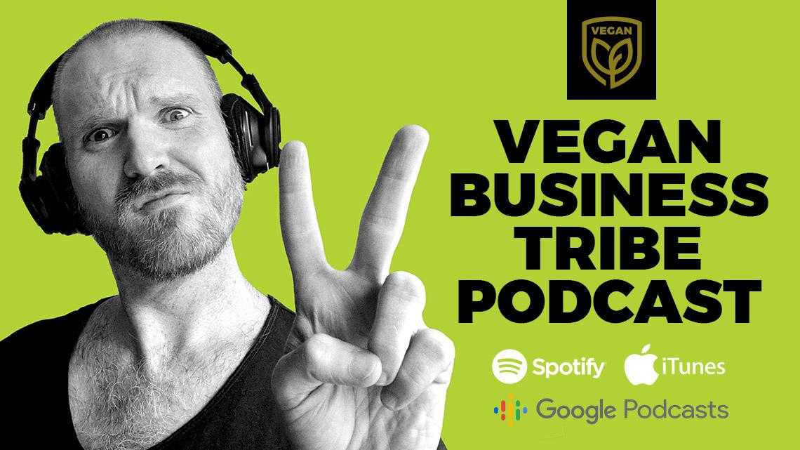 Vegan Business Tribe podcast banner